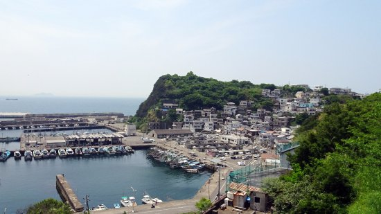 Cape Saikazaki: 雑賀崎漁港
