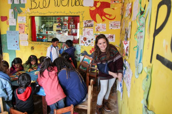 Proyecto Peru Centre: Volunteer Lara worked at an after school program