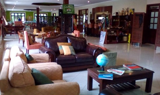Arusha Planet Lodge: The reception area of the lodge