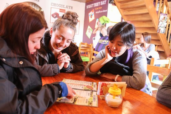 Proyecto Peru: Outside Spanish lesson