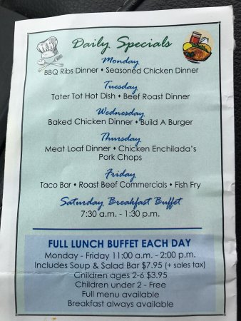 Sauk Centre, MN: Daily special is awesome worth trying out.
