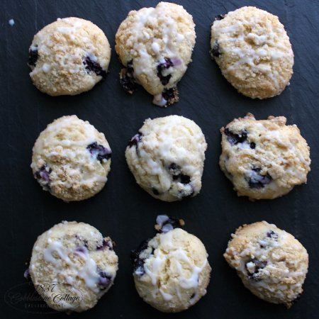 Canandaigua, NY: Blueberry Muffin Top Cookies