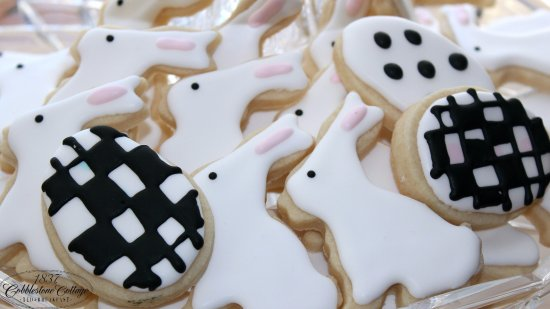 Canandaigua, NY: A Bunny Cookie hopping by.