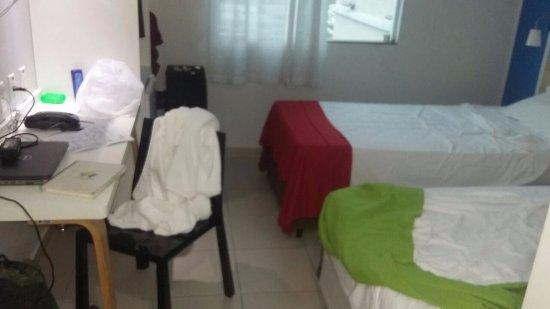 Go Inn Manaus: 18:00h e o quarto ainda estava do jeito que deixei quando sai!