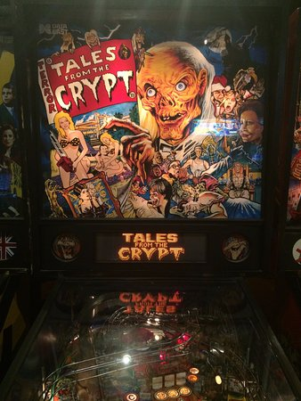 Pelham, Nueva Hampshire: Tales from the crypt pinball