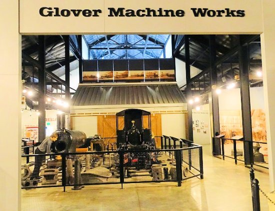 Southern Museum Of Civil War And Locomotive History Exhibit