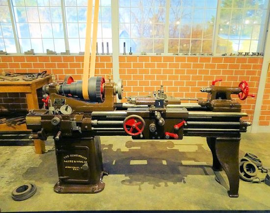 Southern Museum Of Civil War And Locomotive History 1910 Lathe