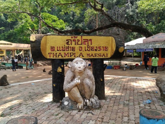 Mae Sai, Thaïlande : Entrada a una tontería.