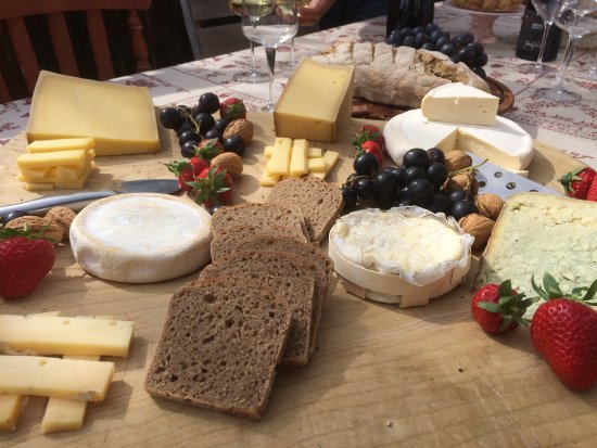 La Lechere, France: Our famous cheese board awaits you - the of Savoie.