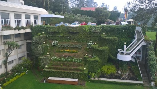 Sinclairs Retreat Ooty: View of the beautiful landscape of the hotel