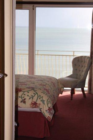 Sandringham Hotel: Dbl High Floor Sea View Balcony Room