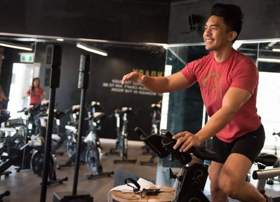 Burnaby, Canada: Wicked HIIT Spin Class