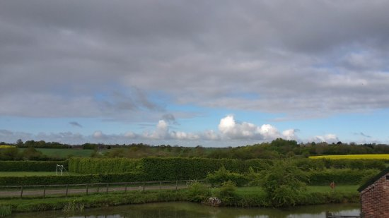 Halesworth, UK: View from the bedroom of Swan Cottage