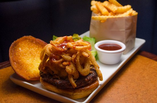 The Game: Backyard Burger With Fries