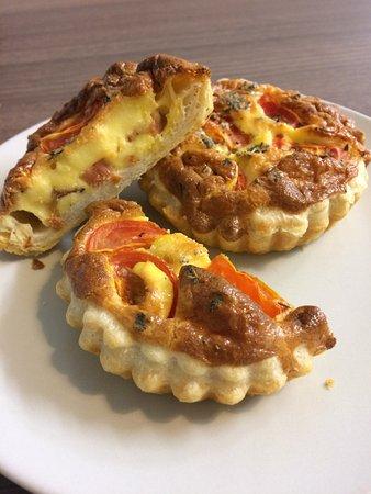 Boscastle, UK: Breakfast tart
