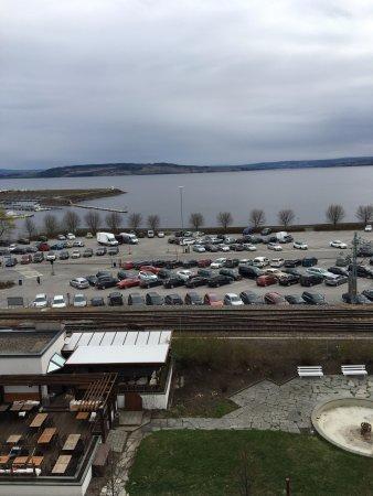 Hamar, Νορβηγία: Utsikt mot Mjøsa er alltid vakkert!