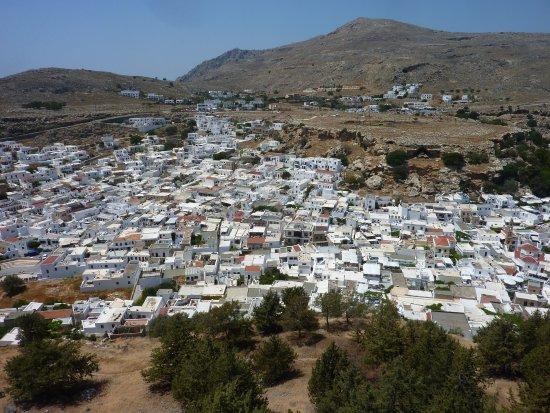 De Paulusbaai bij Lindos - Picture of Acropolis of Lindos ...