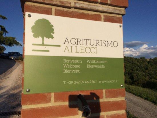Ramazzano, Italy: Agriturismo ai lecci