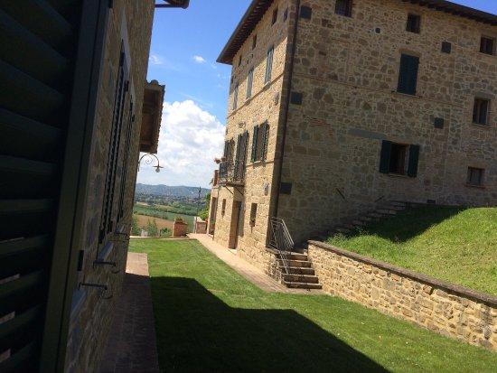 Ramazzano, Italy: Panorama dalla camera