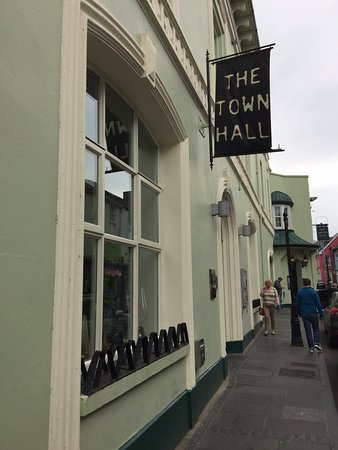 Ennis, Ireland: Entry to Town Hall