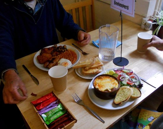 South Molton, UK: lunch