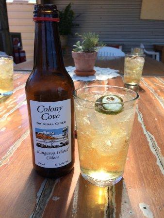 Kingscote, Australia: Cider!