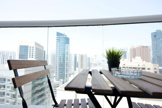 Balcony - Picture of BackPacker 16, Dubai - Tripadvisor
