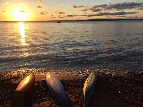 Sturgeon Bay, WI: Enjoy a beautiful Door County Sunset from the water!