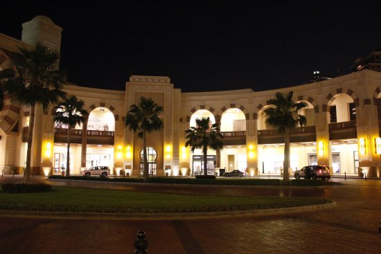 Driveway To Enter By Car Picture Of The Pearl Qatar Doha
