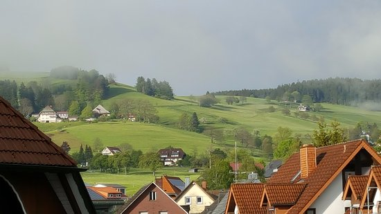 Gasthof zum Kreuz : this was our amazing view from our room