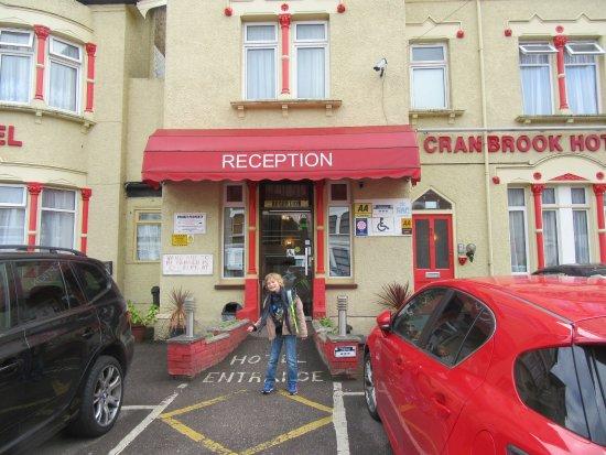 Cranbrook Hotel: devant l'hôtel