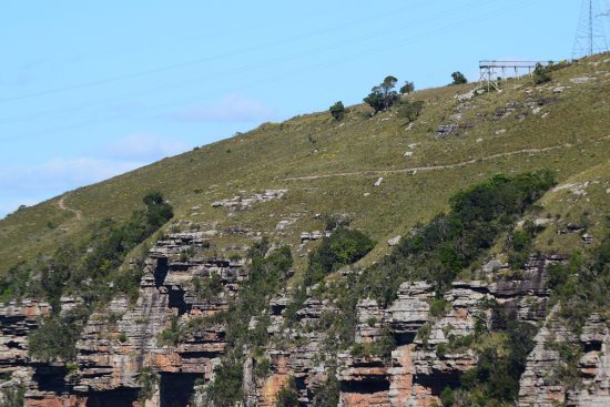 Port Shepstone, South Africa: From opposite side of the gorge