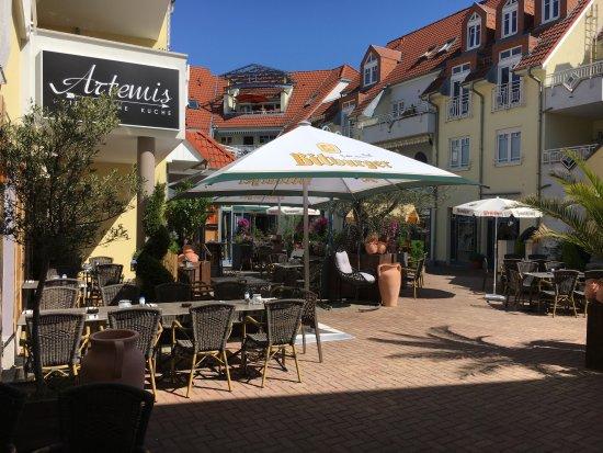 Wiesloch, Alemania: Terrasse