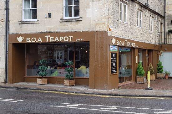 B.O.A Teapot: FRONT