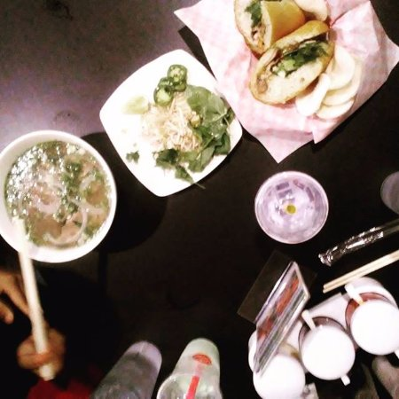 Pho Queen Clearwater: Our entire spread.