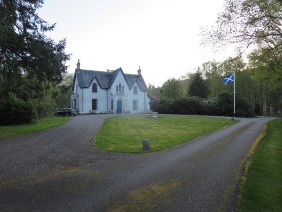 Main front of Kerrow House