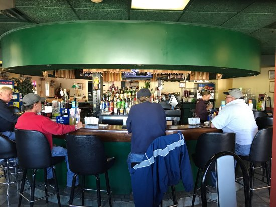Weedsport, Estado de Nueva York: A circular bar makes for great conversation