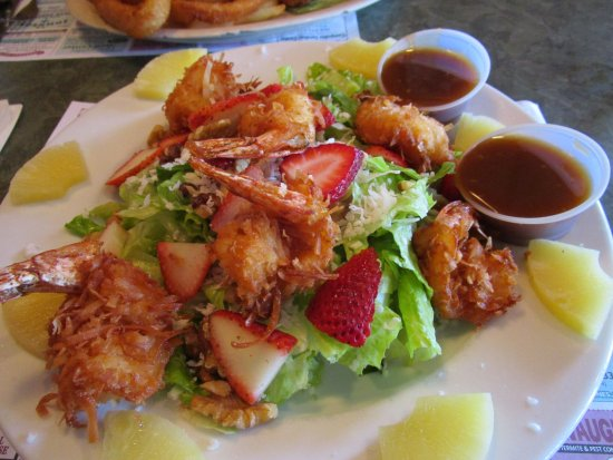 Whitehouse Station, Νιού Τζέρσεϊ: Coconut Shrimp Salad