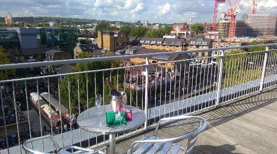 Holiday Inn London - Camden Lock: Room 507 Balcony