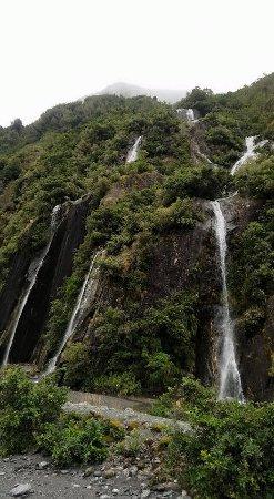 Franz Josef, Νέα Ζηλανδία: Waterfalls
