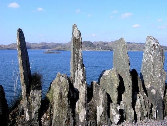 Argyll og Bute, UK: Loch Crinan e castello