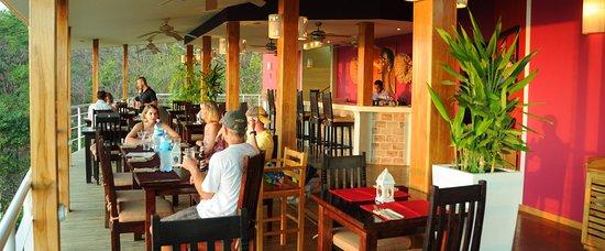 Mal Pais, Kosta Rika: Papaya Lounge Restaurant