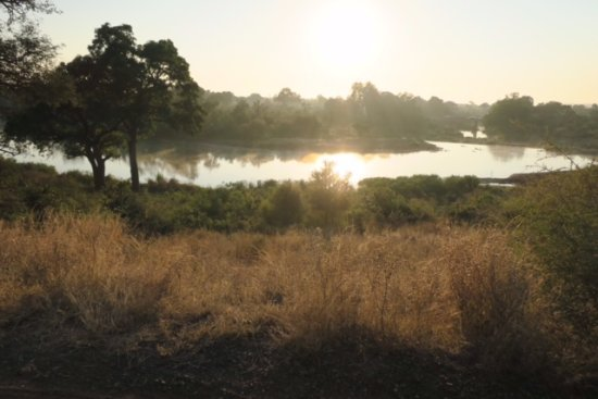 Beautiful views - Kruger National Park is magical.