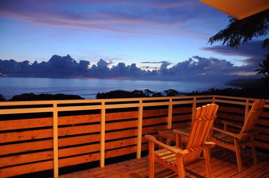 Mal País, Costa Rica: Honeymoon Suite ocean view terrace