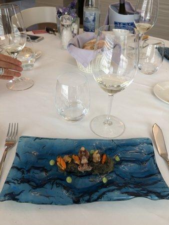 Santa Eugenia de Berga, Ισπανία: Offerings from the sea