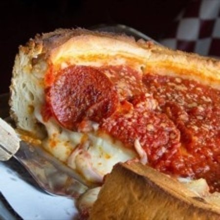 Brunswick, OH: Chicago Deep Dish with extra cheese & pepperoni