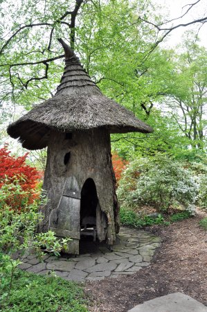 Tulip Tree House in the Enchanted Woods at Winterthur
