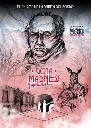 Cover juego La Locura de Goya: fotografía de Mad Escape Room, Madrid - Tripadvisor