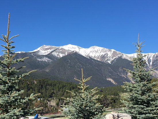 Nathrop, CO: View from our room