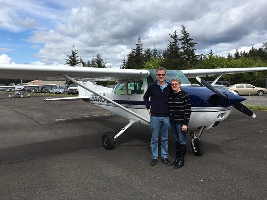 Westwind Aviation: Awesome scenic flight from Orcas Island. Thank You, Mari!